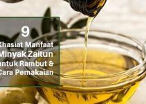 9 Khasiat Manfaat Minyak Zaitun untuk Rambut & Cara Pakainya