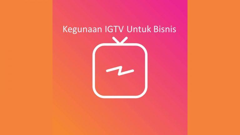 Kegunaan IGTV Untuk Meningkatkan Profit Bisnis