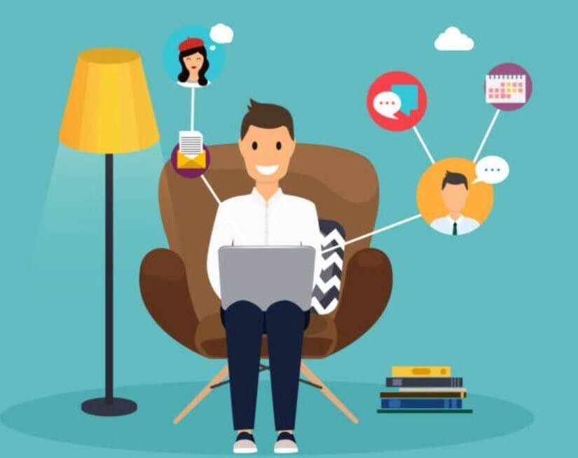 16 Tips Agar Tetap Produktif Saat Work From Home (WFH)