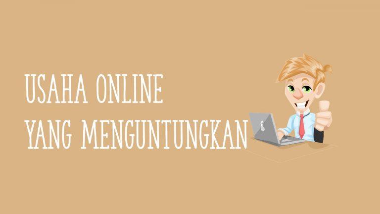 usaha online yang menguntungkan