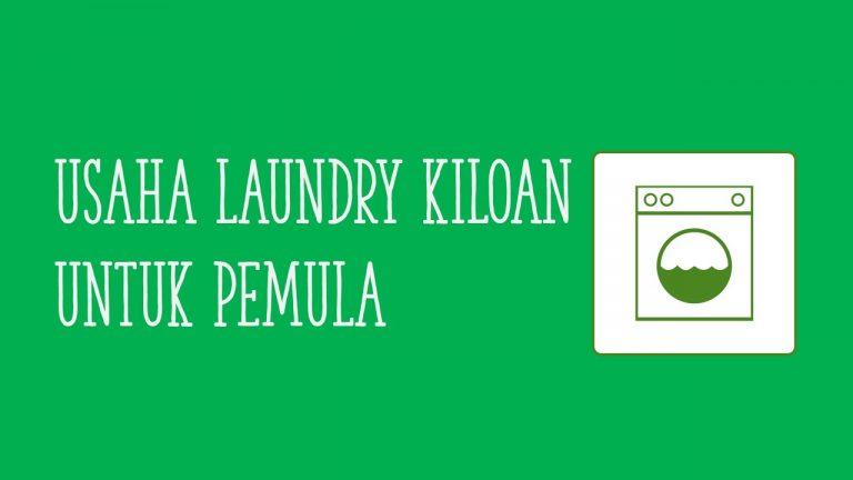 usaha laundry kiloan untuk pemula