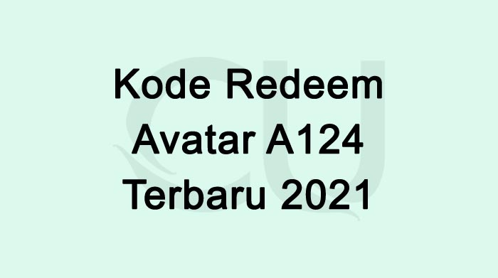 Kode Redeem Avatar A124 Terbaru Free Fire Hari ini