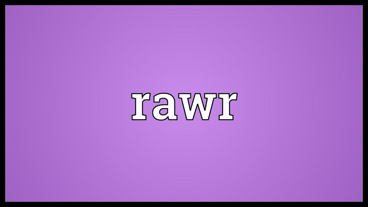 What Does Rawr Mean Arti Bahasa Gaul Dalam Bahasa Indonesia
